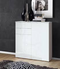 kommode weiãÿ hochglanz design wohnzimmer highboard kommode