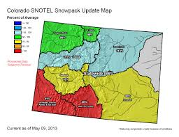 Colorado Weather Map by Colorado Snowpack Improves Skyview Weather
