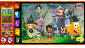 halloween birthday party games bubble guppies halloween party full games episodes video bubble