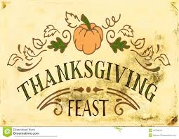 Thanksgiving Feast Clip Vintage Thanksgiving Stock Image Image Of Food 46729619