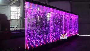 led lighting for banquet halls custom partition wall led water bubble wall for wedding banquet hall