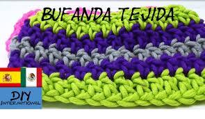 bufandas mis tejidos tejer en navidad manualidades navidenas bufanda cómo tejer una bufanda para niños tutorial diy ideas hazlo tu