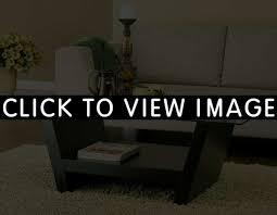 coffee table clear glass top modern coffee table wwood box base