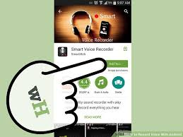 record audio android how to record voice with android 4 steps with pictures
