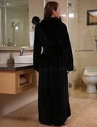 robe de chambre pour spa insun unisexe peignoir de bain ultra doux chaud douillet hiver robe
