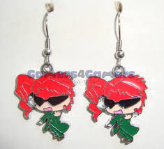jojo s earrings jojo s adventure noriaki kakyoin earrings