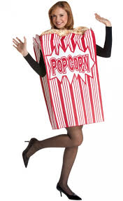 popcorn costume costumes funny food costumes pinterest