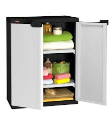 menards storage cabinets plastic rubbermaid shelves for garage