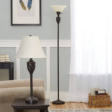 excellent ideas floor and table lamp set adesso 3 piece dark