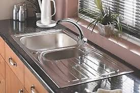18 10 stainless steel kitchen sinks new astracast alto kitchen sink 18 10 stainless steel 1 5 bowl