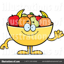 fruit bowl clipart 1306220 illustration by cory thoman
