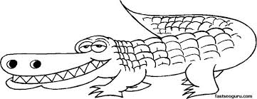 alligator coloring pages jungle book printable 71008