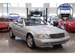 2000 mercedes benz sl500 for sale classiccars com cc 935452