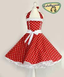 50 u0027s vintage dress full skirt pink black polka dots wedding