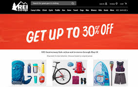 rei is a sale this week dwym