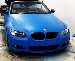 bmw car uk plasti dip car uk bmw in blue plasti dip wrench studios