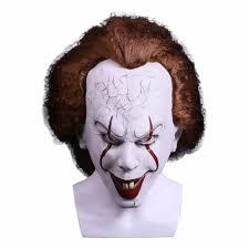 aliexpress com buy stephen king u0027s it pennywise halloween mask