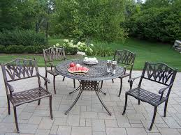 Solid Cast Aluminum Patio Furniture by Oakland Living Cast Aluminum Furniture Hewlynn Home U0026 Garden Center