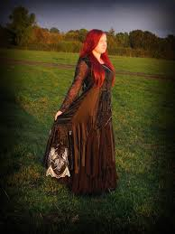 black alternative gothic wedding dress halloween wedding gown