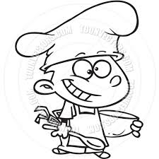 cooking clip art black and white clipart free clipart