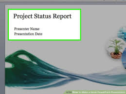 how to make a great powerpoint presentation with sample presentation