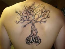 family tree for back tattoos