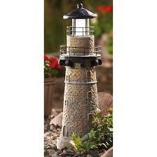 solar lighthouse light kit solar garden lighthouse home outdoor decoration