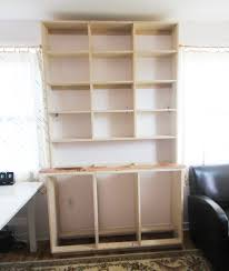 Learn To Build Cabinets How To Build A Built In Bookshelf