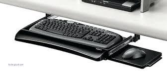 Office Desk Keyboard Tray Keyboard Drawer Computer Keyboard Trays Desk Beautiful In