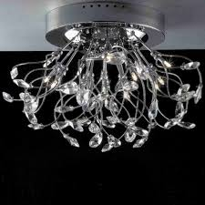 Crystal Flush Mount Lighting Brizzo Lighting Stores 24