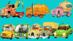 good vs evil dump truck learn construction street vehicles