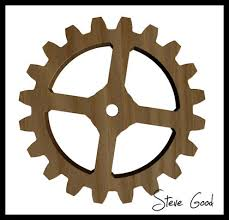 scrollsaw workshop adrian iredale wooden gear clock maker