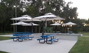 Grey Patio Umbrella by Double Offset Patio Umbrellas Outdoor Umbrellas The Shade