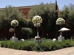 Decoration Florale Mariage Mariage Marrakech Maroc Decoration Florale Exterieur G Image In