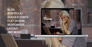 vision responsive one page template by creativezthemes themeforest