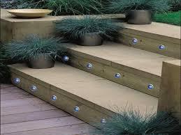 solar stair lights outdoor lighting design ideas