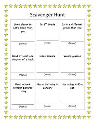 printable halloween scavenger hunt scavenger hunt let u0027s read
