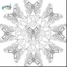 wonderful star coloring page mandala with mandala coloring page