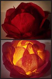 silk petals diy silk tea light great for your decoration materials