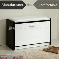 File Cabinet Seat One Door Shoe Rack With Seat Storage Shoe Stool Bench Design Shoe