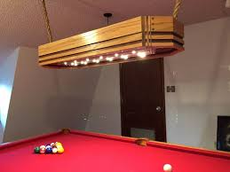 light over pool table how to build a custom pool table light