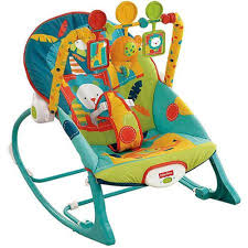 Infant Toddler Rocking Chair Baby Bouncer Seat For Boys Toddler Rocking Chair Dark Safari Print