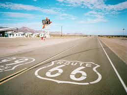 Us Route 66 Map by