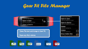 samsung gear manager apk gear fit file manager android apps on play