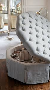 serena shoe ottoman frontgate loves fairy tales when they