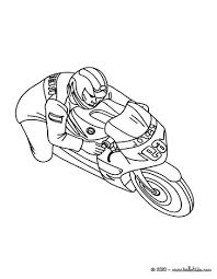 sport motorcycle race coloring pages hellokids