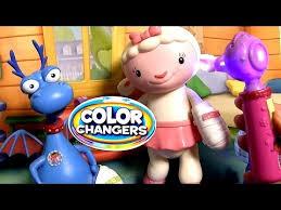 disney doc mcstuffins color changers playset colour