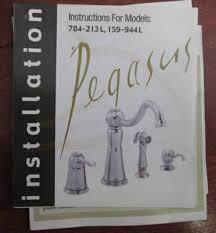 pegasus kitchen faucets pegasus single handle kitchen faucet diggerslist