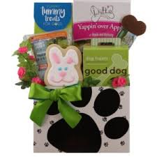 dog gift baskets for dogs pered paw gifts
