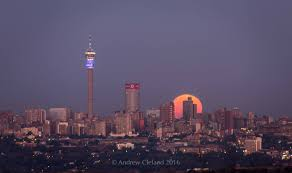 Strawberry Moon Joburg During The Winter Solstice Is Lighting Up Social Media